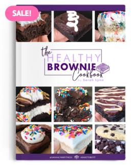 The Healthy Brownie Cookbook